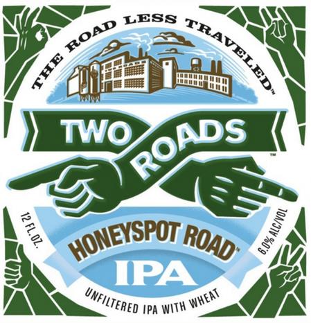 Review : Two Roads Honeyspot Road IPA