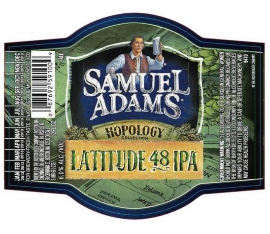 Review : Samuel Adams Latitude 48 IPA