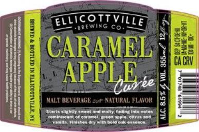 Review :Ellicottville Caramel Apple Cuvée