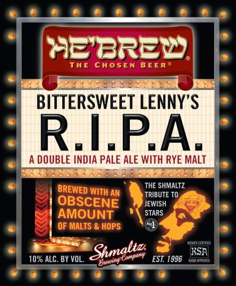Review : He'Brew Bittersweet Lenny's R.I.P.A.