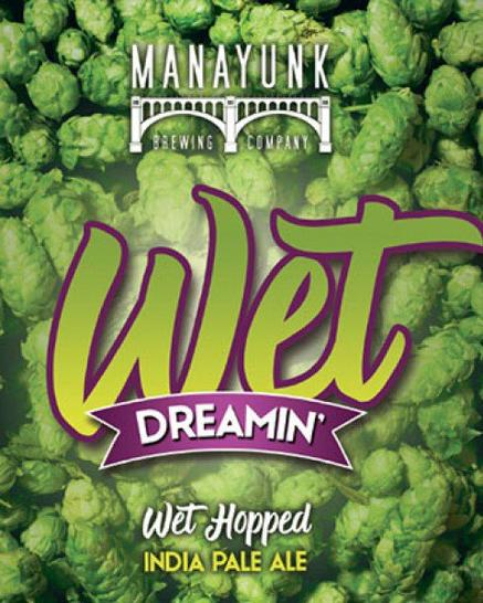 Review : Manayunk Wet Dreamin' IPA