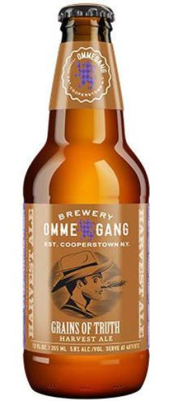 Review : Ommegang Grains of Truth Harvest Ale