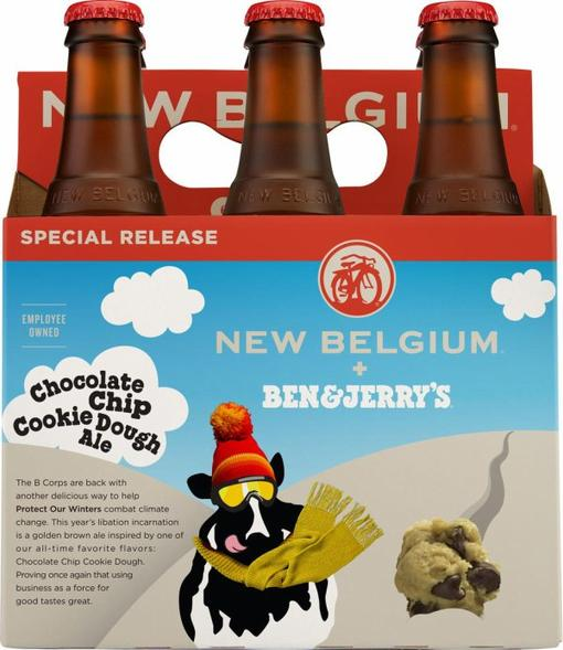 Review : New Belgium + Ben & Jerry's Chocolate Chip Cookie Dough Ale