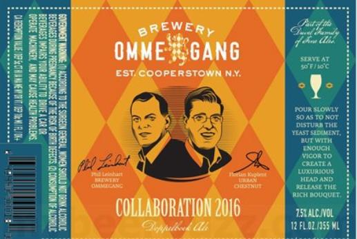 Review : Ommegang - Urban Chestnut Collaboration 2016