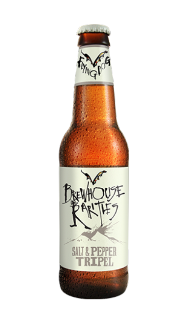 Review : Flying Dog Brewhouse Rarities Salt & Pepper Tripel
