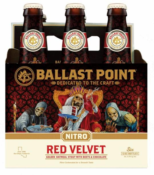 Review : Ballast Point Red Velvet Nitro