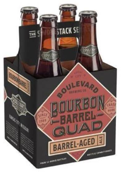 Review : Boulevard Smokestack Series Bourbon Barrel Quad