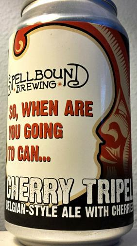 Review : Spellbound Cherry Belgian Tripel