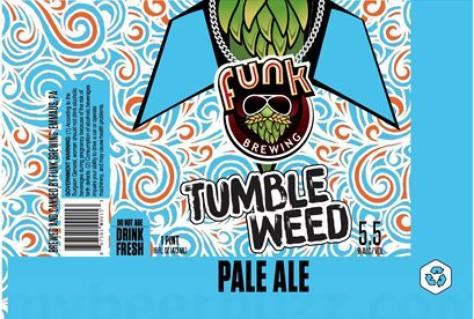 Review : Funk Tumbleweed Pale Ale