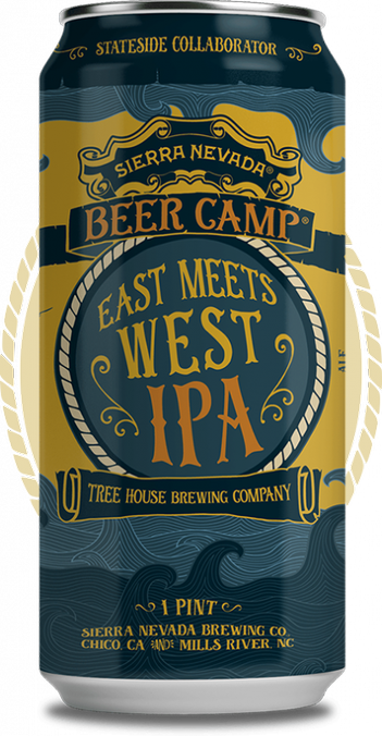 Review : Sierra Nevada - Tree House Brewing East Meets West IPA