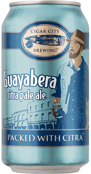 Review : Cigar City Guayabera Citra Pale Ale