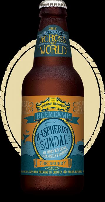 Review :  Sierra Nevada - The Bruery Raspberry Sundae Ale