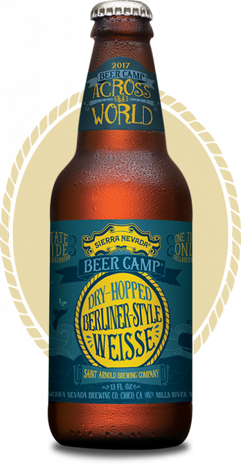 Review :  Sierra Nevada - Saint Arnold Dry-Hopped Berliner-Style Weisse