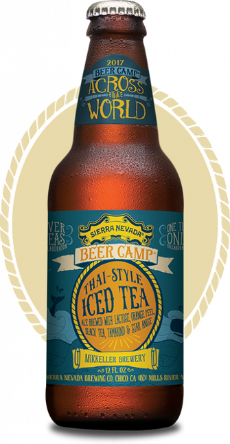 Review :  Sierra Nevada - Mikkeller Thai-Style Iced Tea