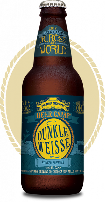 Review :  Sierra Nevada - Ayinger Beer Camp Dunkle Weisse