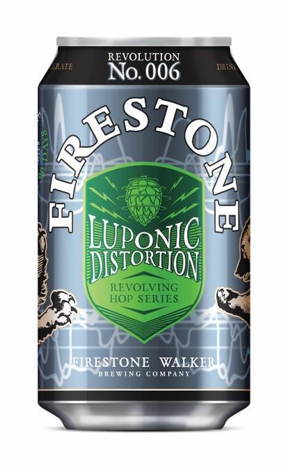 Review :  Firestone Walker Luponic Distortion Revolution No. 006