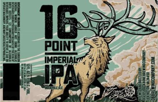 Review: Devils Backbone 16 Point Imperial IPA