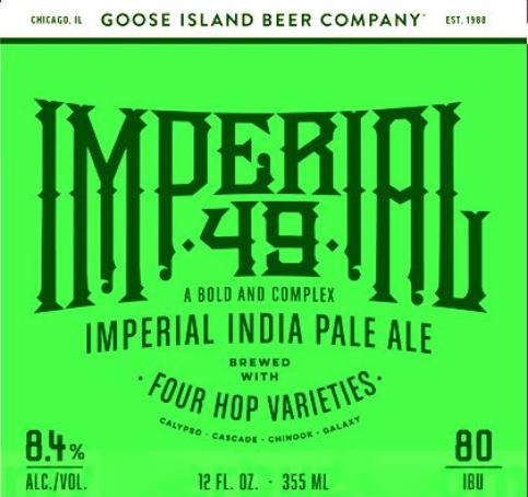 Review: Goose Island Imperial 49