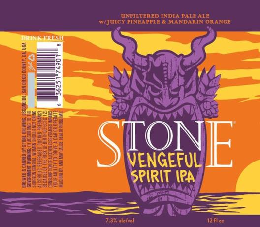Review: Stone Vengeful Spirit IPA