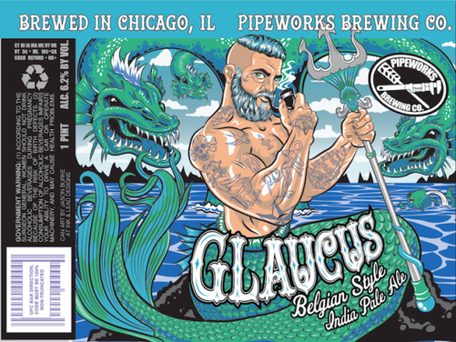 Review:  Pipeworks Glaucus Belgian IPA