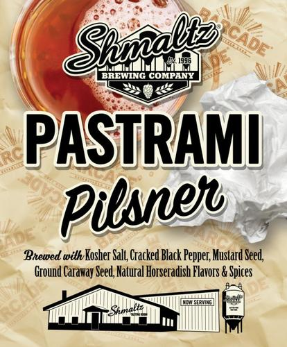 Review: He'Brew Pastrami Pilsner