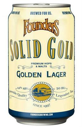 Review: Founders Solid Gold Premium Lager