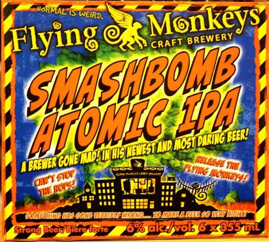 Review: Flying Monkeys Smashbomb Atomic IPA