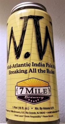 Review: 7 Mile Brewery Walter White IPA