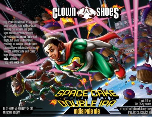 Review: Clown Shoes Space Cake Double IPA