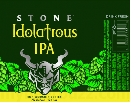 Review: Stone Idolatrous IPA