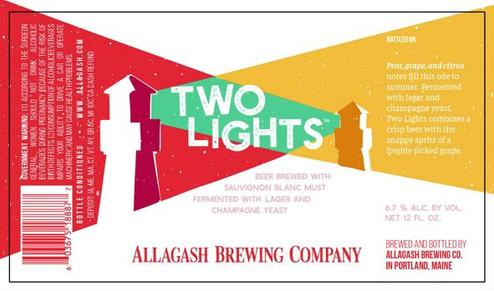 Review: Allagash Two Lights