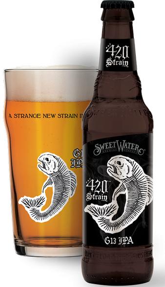 Review: SweetWater 420 Strain G13 IPA