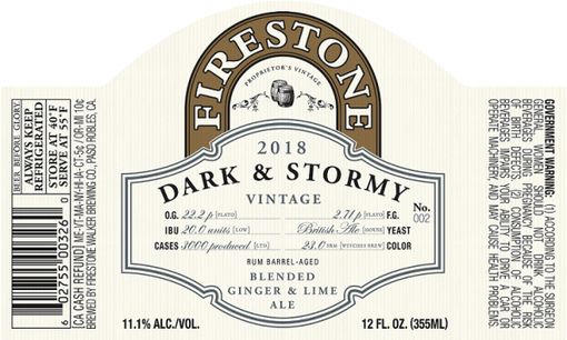 Review: Firestone Walker Dark & Stormy (2018)
