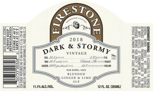 Review: Firestone Walker Dark & Stormy (2018)