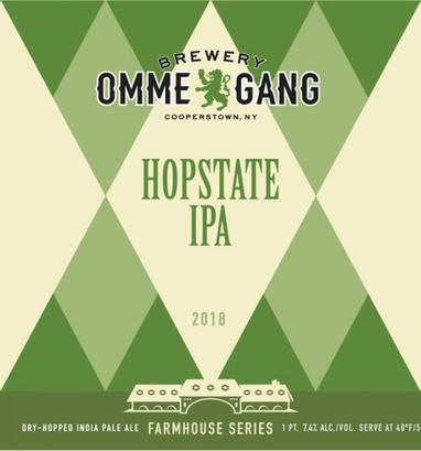 Review :  Brewery Ommegang Hopstate IPA 2018