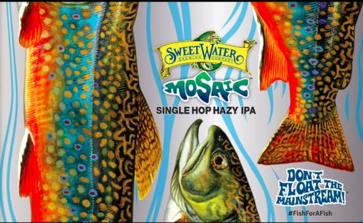 Review :  Sweetwater Mosaic Single Hop Hazy IPA