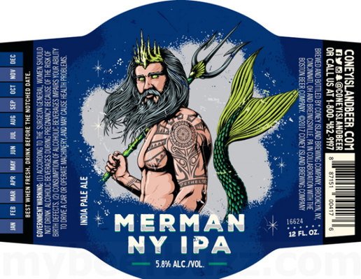 Review : Coney Island Merman NY IPA