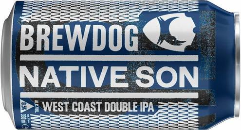Review : BrewDog Native Son IPA