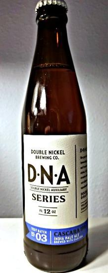Review : Double Nickel DNA Series #03 (Cascara IPA)