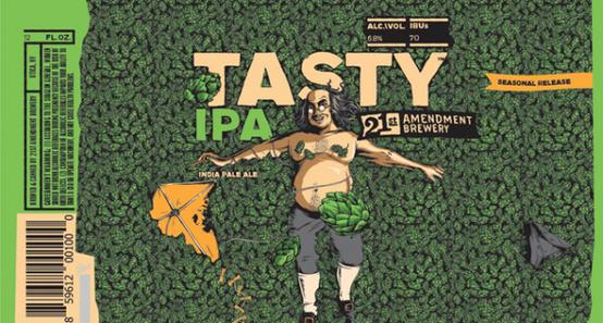 Review :  21st Amendment Tasty IPA