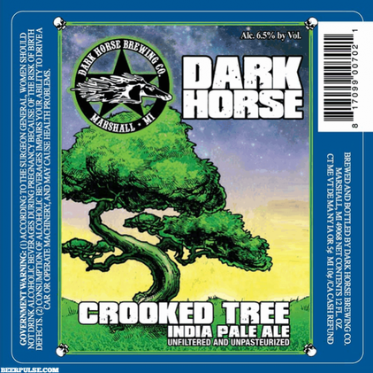 Review :  Dark Horse Crooked Tree IPA