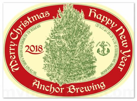 Review :  Anchor Christmas Ale 2018