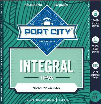 Review :  Port City Integral IPA