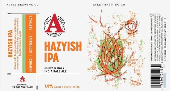 Review : Avery Hazyish IPA