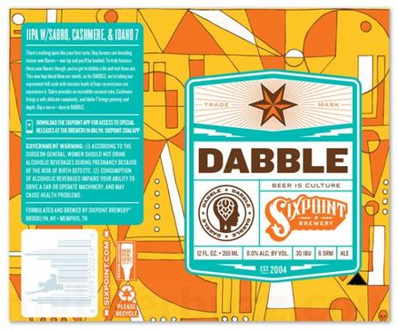 Review :  Sixpoint Dabble IPA