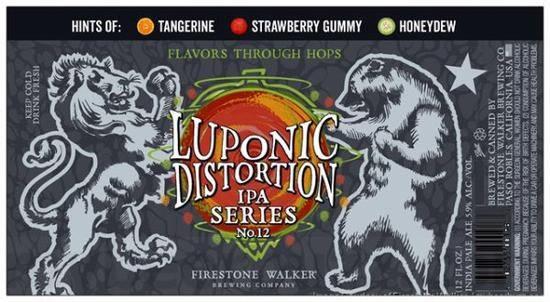 Review :  Firestone Walker Adding Luponic Distortion No 12