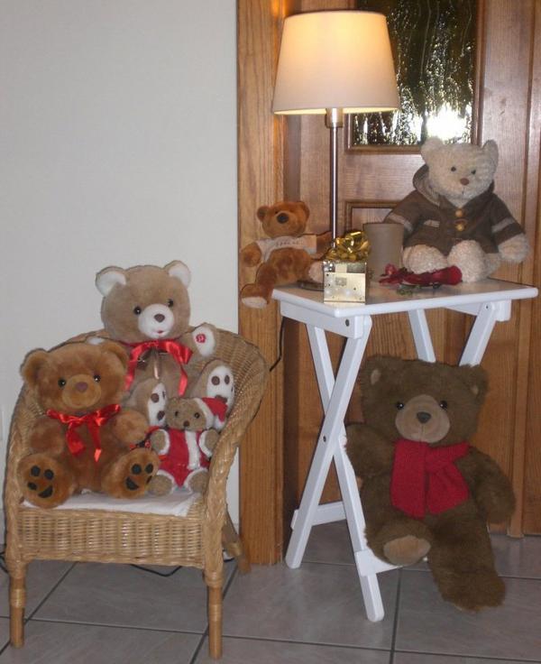 Ils attendent sagement Noël !!!!