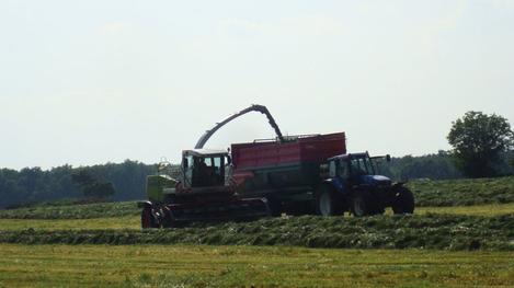 Ensilage 2011 chantier n°2 ...................