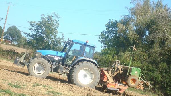 Labours et semis de Ray-Grass le Mercredi 14 Septembre 2° partie 2011 ...