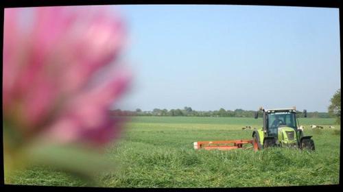 Fauchage le Dimanche 13 Mai 2012 ( Claas arion 620) ...